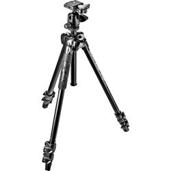 Manfrotto MK290LTA3-BHUS 290 Light Aluminum Tripod with Ball Head
