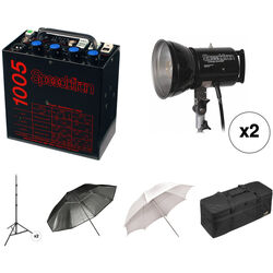 Speedotron 1005 CC Digital Studio 2 Head Kit