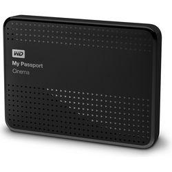 WD 1TB My Passport Cinema 4K UHD Movie Storage USB 3.0 Hard Drive (Black)
