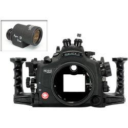 Aquatica AD810 Pro Underwater Housing for Nikon D810 with Aqua VF (Dual Optical Strobe Connectors)