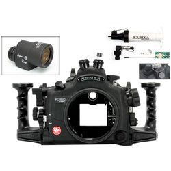 Aquatica AD810 Pro Underwater Housing for Nikon D810 with Aqua VF and Vacuum Check System (Dual Fiber-Optic Strobe Connectors)