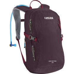 CAMELBAK Day Star 18 Women's 16L Backpack with 2L Reservoir (Beet Red/Winetasting)