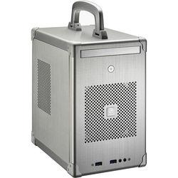 Lian Li PC-TU100 Mini-ITX/Mini-DTX Mini Tower Chassis (Silver)