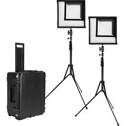 Westcott Flex Bi-Color LED Mat 2-Light Cine Studio Kit (1 x 1')