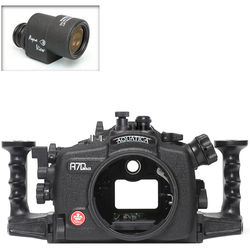 Aquatica A7D Mk II Underwater Housing for Canon 7D Mark II with Aqua VF (Optical and Nikonos Strobe Connectors)