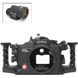 Aquatica A7D Mk II Underwater Housing for Canon 7D Mark II with Aqua VF (Ikelite TTL Strobe Connector)