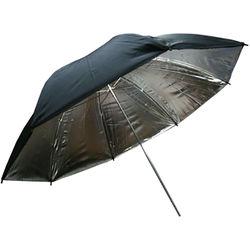 "Phottix 40"" Two Layer Reflector Umbrella (Silver/Black)"