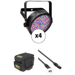 CHAUVET SlimPAR 56 LED Quad Kit
