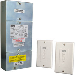 Draper Low Voltage Control Kit with LVC-IV Control Module and Two LVC-S Low Voltage Switches (110V)