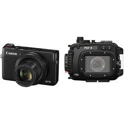 Fantasea Line FG7X Underwater Housing and Canon PowerShot G7 X Digital Camera Kit
