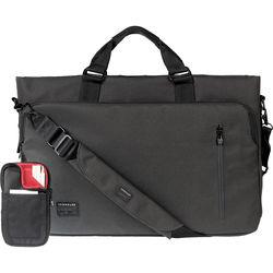 "Crumpler Milestone Moment 15"" Laptop Briefcase (Large, Gunmetal)"