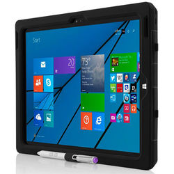 Incipio Capture Ultra Rugged Case with Rotating Hand Strap for Microsoft Surface Pro 3 (Black)