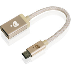 IOGEAR USB 3.0 Type-C Male to Type-A Female Charge & Sync Adapter (Gold)