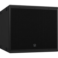 "Turbosound NuQ115B-AN 3000W 15"" Front-Loaded Powered Subwoofer with KLARK TEKNIK DSP Technology and ULTRANET Networking (Black)"