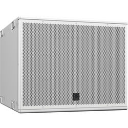 "Turbosound NuQ115B-WH 15"" Front-Loaded 2000W Subwoofer (White)"