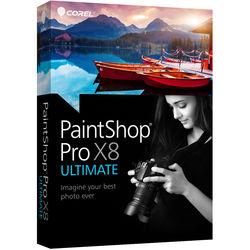 Corel PaintShop Pro X8 Ultimate (DVD)