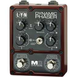 MC Systems Apollo LYN Dynamic Phaser Guitar Pedal