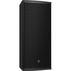 "Turbosound TCS122/64-R 12"" Two-Way Full-Range Weather-Resistant Loudspeaker with Dendritic Waveguide (60° x 40° Dispersion Pattern, Black)"