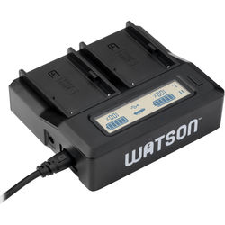 Watson Duo LCD Charger for BP-U Series Batteries