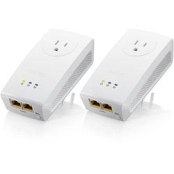 ZyXEL PLA5256KIT AV1000 Powerline Homeplug Kit