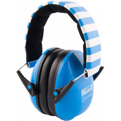 Alpine Hearing Protection Muffy Ear Muff for Children (Blue/White)