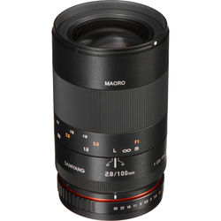 Samyang 100mm f/2.8 ED UMC Macro Lens for Sony A