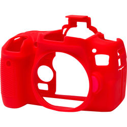 easyCover Silicone Protection Cover for Canon 760D/Rebel T6s (Red)