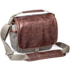 Think Tank Photo Retrospective 5 Shoulder Bag (Gray with Brown Leather)