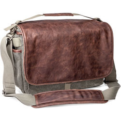 Think Tank Photo Retrospective 30 Shoulder Bag (Gray with Brown Leather)