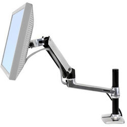 Halter Adjustable Monitor Arm (Silver)