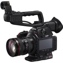 Canon EOS C100 Mark II Cinema EOS Camera with EF 24-105mm f/4L Lens