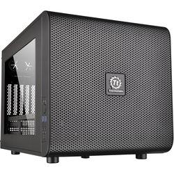 Thermaltake Core V21 Micro ATX Cube Chassis PC Computer Case - Black