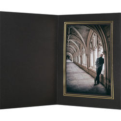 "National Photo Folders Premier Photo Folder (8 x 10"", 25-Pack, Black)"
