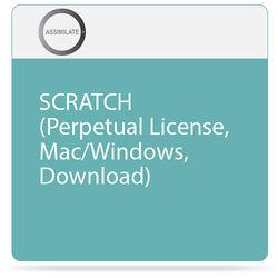 Assimilate SCRATCH (Perpetual License, Mac/Windows, Download)