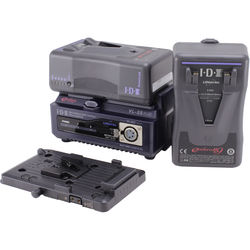 IDX System Technology Endura HL9 Power Kit with 2-Channel Charger and Battery Plate