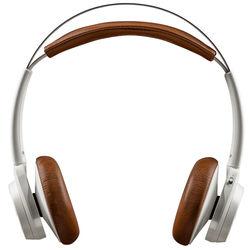 Plantronics Backbeat Sense - Wireless Headphones with Mic (White/Tan)