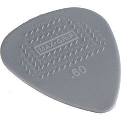 Dunlop 449P.60 Max-Grip Nylon Standard Guitar Pick (12-Pack)