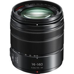 Panasonic Lumix G Vario 14-140mm f/3.5-5.6 ASPH. POWER O.I.S. Lens (Matte Black)