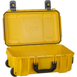 Seahorse SE830 Case with Telescoping Handle without Foam (Safety Yellow)