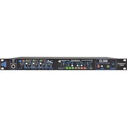 EMPIRICAL LABS EL-Rx DocDerr and EL-DS DerrEsser Signal Processors with Horizontal EL500 Rack