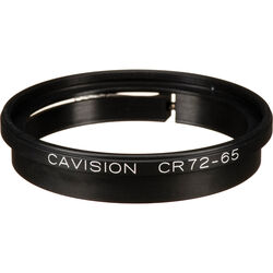 Cavision CR72-65 Clamp-On / Step Up Ring - 65mm Clamp to 72mm Filter Thread