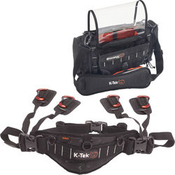 K-Tek Stingray Jr. Audio Mixer Recorder Bag & Stingray Waistbelt Kit