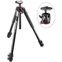 Manfrotto MT190XPRO3 Aluminum Tripod and XPRO Ball Head with 200PL Quick-Release System