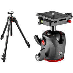Manfrotto MT055CXPRO3 Carbon Fiber Tripod with XPRO Ball Head with Top Lock Quick Release System