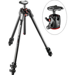 Manfrotto MT190CXPRO3 Carbon Fiber Tripod with XPRO Ball Head with 200PL Quick-Release System