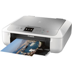 Canon PIXMA MG5722 Wireless All-in-One Inkjet Printer (Silver/White)