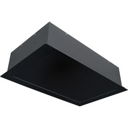 Draper 300575 Ceiling Finish Kit for Micro Projector Lift / AeroLift 25 (Black)