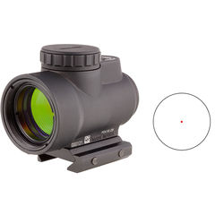 Trijicon 1x25 MRO Reflex Sight with Low Mount (Red Dot Reticle)