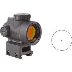 Trijicon 1x25 MRO Reflex Sight with Full Co-Witness Mount (Red Dot Reticle)