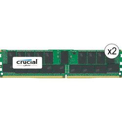 Crucial 64GB DDR4 2400 MHz RDIMM Memory Kit (2 x 32GB)